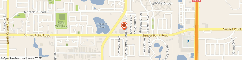 Route/map/directions to Navy Federal Credit Union ATM, 33763 Clearwater, 1921 N Belcher Rd