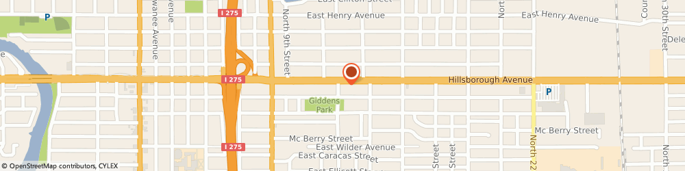 Route/map/directions to City Pawn, 33604 Tampa, 1203 E Hillsborough Ave