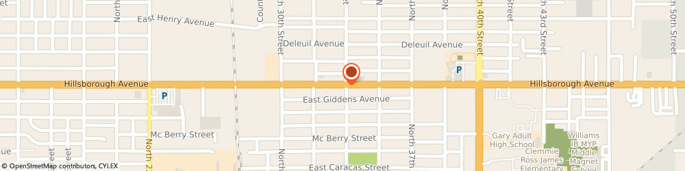 Route/map/directions to Mr Money Pawn & Gun Incorporated, 33610 Tampa, 3315 EAST HILLSBOROUGH AVENUE