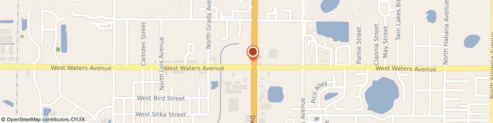 Route/map/directions to Burger King, 33614 Tampa, 8406 North Dale Mabry Hwy