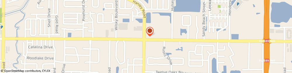 Route/map/directions to Burger King, 33634 Tampa, 7331 West Waters Ave
