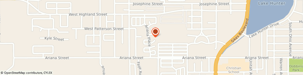 Route/map/directions to Ariana Village, 33803 Lakeland, 1625 Ariana Street