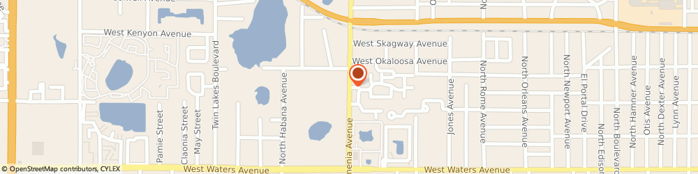Route/map/directions to Mambi Judo Academy, 33603 Tampa, 5908 N Armenia Ave