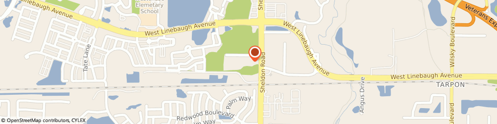 Route/map/directions to 5 Oaks at Westchase, 33626 Tampa, 8820 Thomas Oaks Drive