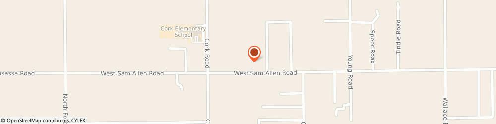 Route/map/directions to Hicks Jim Custom Meats, 33565 Plant City, 4602 W Sam allen Rd
