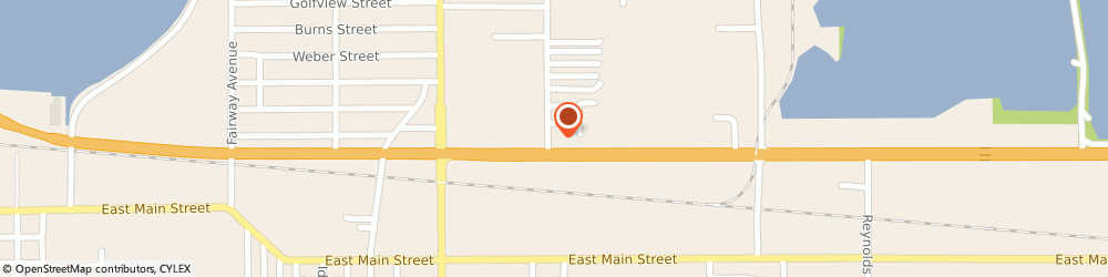 Route/map/directions to Cozy Court Motel, 33801 Lakeland, 407 Woodland Ave