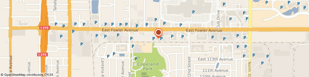 Route/map/directions to Maaco Collision Repair & Auto Painting, 33612 Tampa, 1721 E. Fowler Avenue