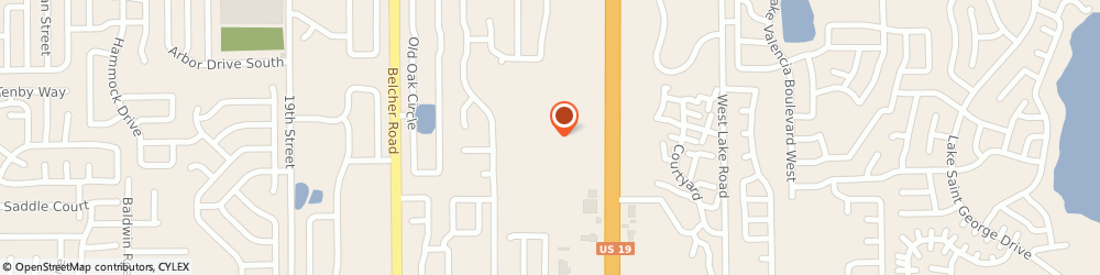 Route/map/directions to Twin Lakes Apartments, 34684 Palm Harbor, 31790 US Hwy 19 N