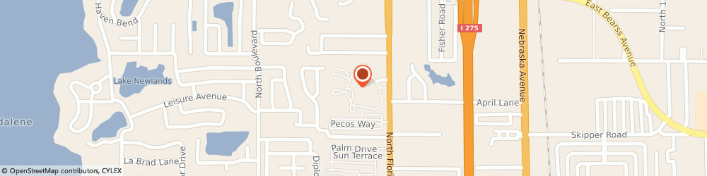 Route/map/directions to Windwood Oaks Apartments, 33613 Tampa, 202 Windwood Oaks Dr