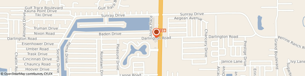 Route/map/directions to Christos Paradisis Pressure, 34690 Holiday, 4814 Darlington Rd