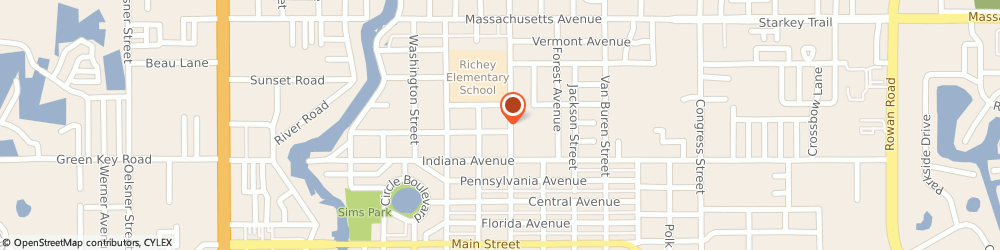 Route/map/directions to Gfs Custom Craft, 34652 New Port Richey, Street