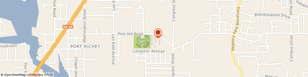 Route/map/directions to a C Co Air Conditioning Incorporated, 34668 Port Richey, 6330 PINE HILL ROAD SUITE 5