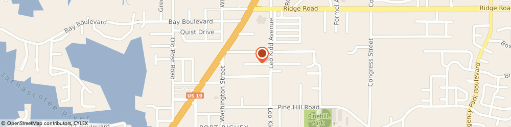 Route/map/directions to Progressive Air Systems, Inc., 34668 Port Richey, 5907 Dasher Court
