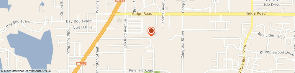 Route/map/directions to Accurate Waste Systems, 34668 Port Richey, 6141 SIESTA LN