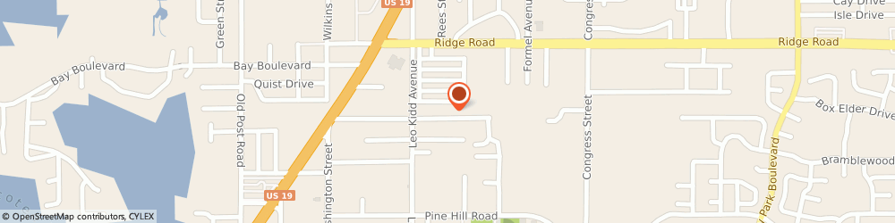 Route/map/directions to OPTIMA HVAC, 34668 Port Richey, 6041 Siesta Lane