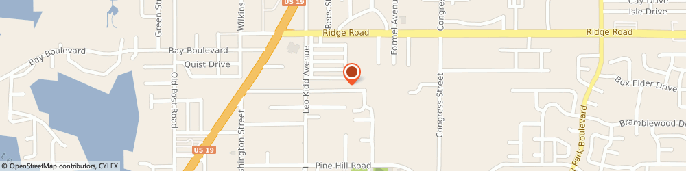 Route/map/directions to Johnson Controls Johnstone Supply Inc, 34668 Port Richey, 6041-9 Siesta Lane