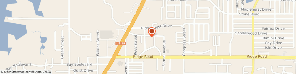 Route/map/directions to GATOR AIR SERVICES INC, 34668 Port Richey, 6154 B Springer Drive