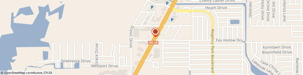 Route/map/directions to Navy Federal Credit Union ATM, 34668 Port Richey, 10007 Us 19