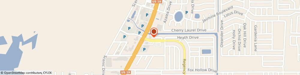 Route/map/directions to Capital City Bank - Loan Production, 34668 Port Richey, 10290 Regency Park Boulevard