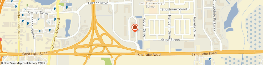 Route/map/directions to Millennium Technology Group, 32819 Orlando, 7657 Golf Channel Drive