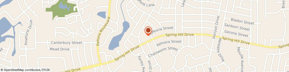 Route/map/directions to Grace Presbyterian Church, 34608 Spring Hill, 8375 Spring Hill Dr