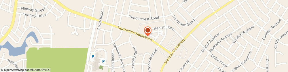 Route/map/directions to Northcliffe Baptist Church, 34608 Spring Hill, 10515 Northcliffe Blvd