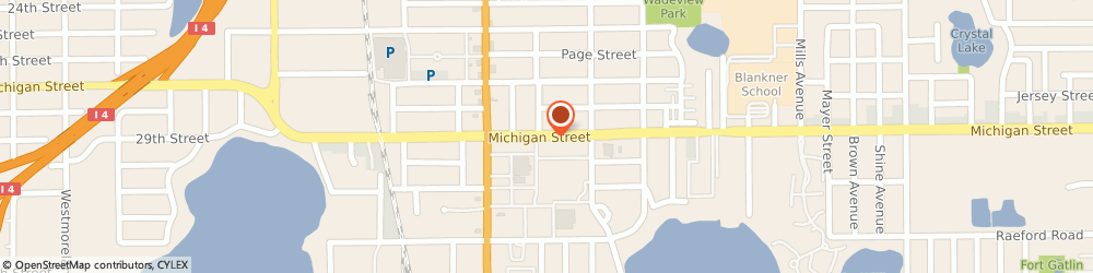 Route/map/directions to Ross Dress For Less, 32806 Orlando, 306 E Michigan St