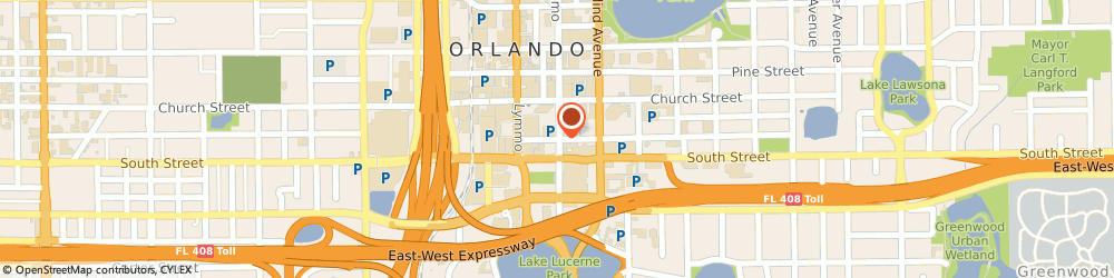 Route/map/directions to Orlando Central Towers Inc, 32801 Orlando, 350 E Jackson St