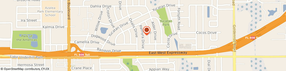 Route/map/directions to AAA Paver Sealing, 32807 Orlando, 159 Palmyra Dr