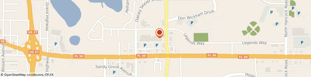 Route/map/directions to HomeGoods, 34711 Clermont, 1718 E. Highway 50