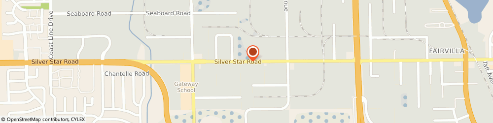 Route/map/directions to Cato Incorporated, 32808 Orlando, 3640 Silver Star Road