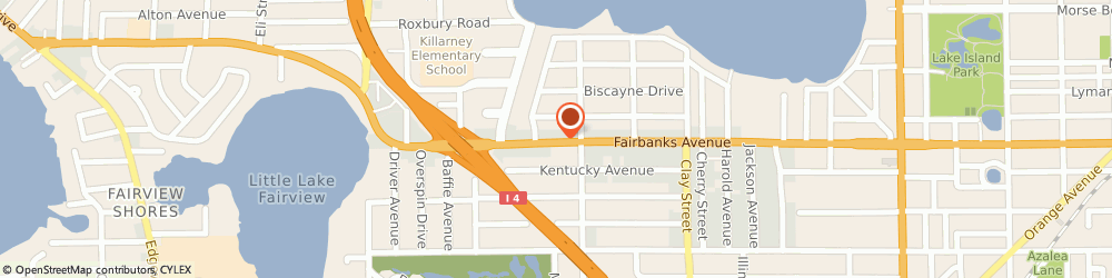 Route/map/directions to Direct Auto Insurance, 32789 Winter Park, 2123 W FAIRBANKS AVE