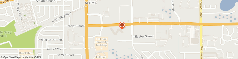 Route/map/directions to Full Sail University, 32792 Winter Park, 3300 University Boulevard