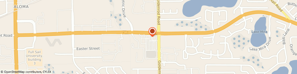 Route/map/directions to AT&T Store, 32792 Winter Park, 7460 University Blvd