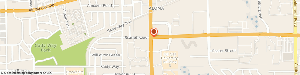 Route/map/directions to Citibank ATM, 32792 Winter Park, 2239 N Semoran Blv