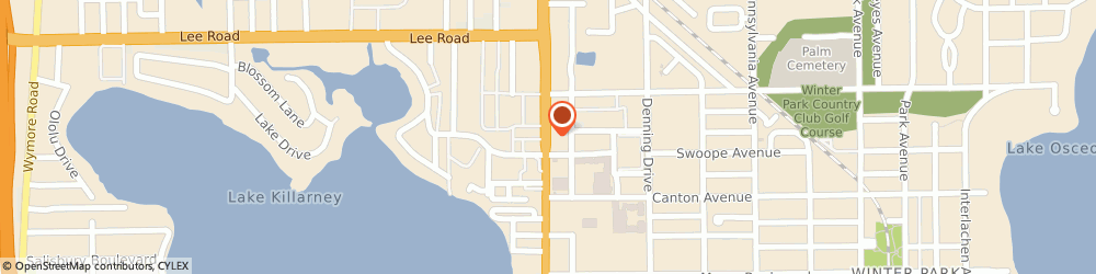 Route/map/directions to Citibank ATM, 32789 Winter Park, 440 N Orlando Ave