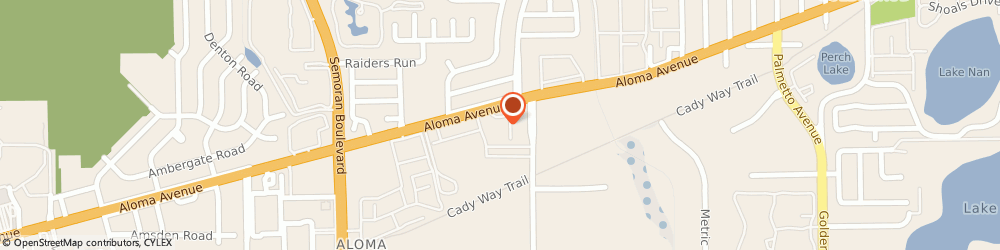 Route/map/directions to A American Auto Insurance, 32792 Winter Park, 3586 Aloma Ave, Ste 3