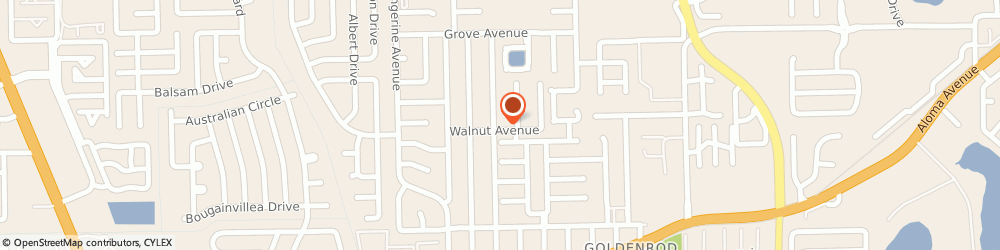Route/map/directions to Safeco Insurance Agent, 32792-9238 Winter Park, 7325 Walnut Ave