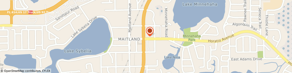 Route/map/directions to CITIBANK ATM, 32751 Maitland, 9405 S. U.S. Hwy. 17 92