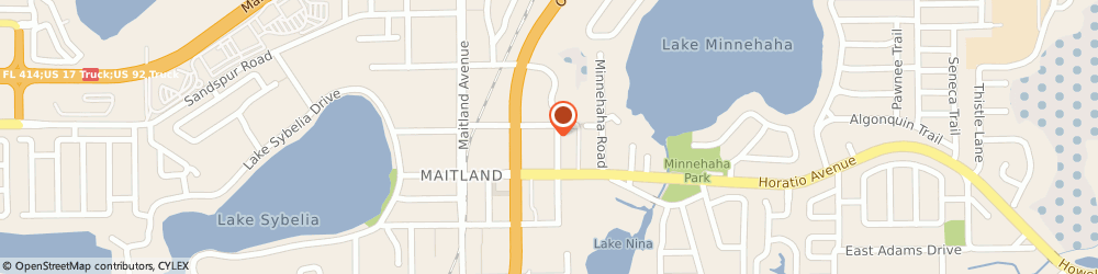 Route/map/directions to Citibank ATM, 32751 Maitland, 242 N Orlando Ave