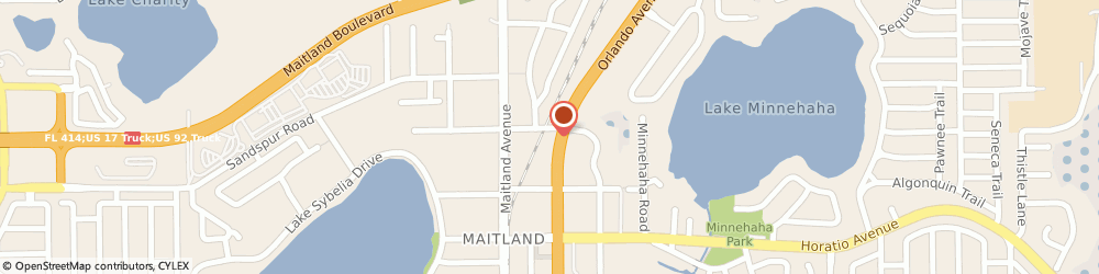 Route/map/directions to Citibank ATM, 32751 Maitland, 481 N Orlando Ave