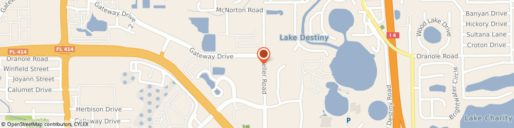 Route/map/directions to Club Car Incorporated, 32810 Orlando, 1151 North Keller Rd.