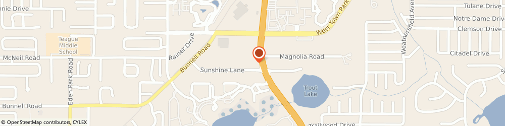Route/map/directions to Mcmillans Furniture Gallery, 32714 Altamonte Springs, 925 SUNSHINE LANE