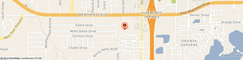 Route/map/directions to Nationwide Insurance Independent Contractors Association, 32714 Altamonte Springs, 222 SOUTH WESTMONTE DRIVE
