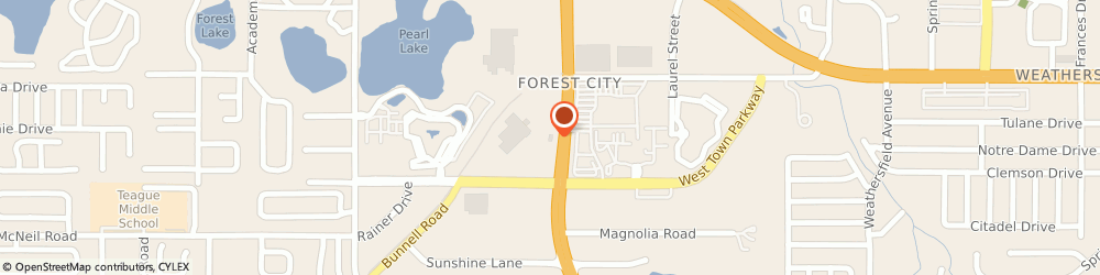 Route/map/directions to McDonald's, 32714 Altamonte Springs, 240 S State Rd 434