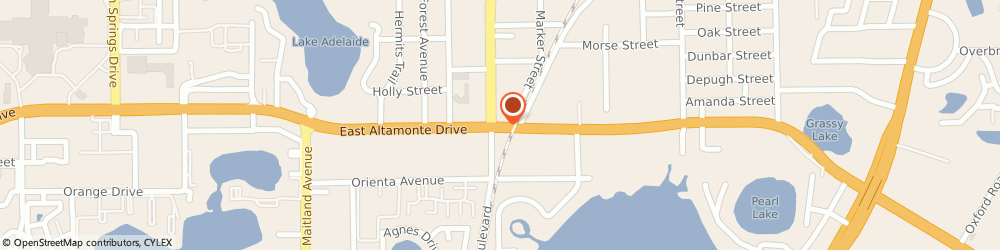 Route/map/directions to Safeco Insurance Agent, 32701-5003 Altamonte Springs, 981 E Altamonte Dr