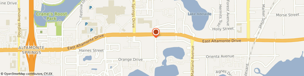 Route/map/directions to Wendy's, 32701 Altamonte Springs, 516 E. Altamonte