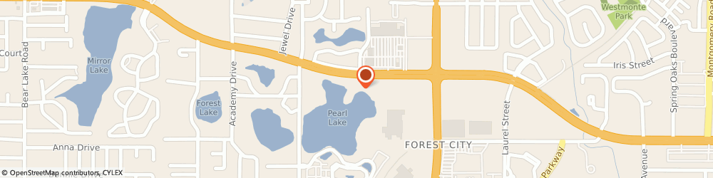 Route/map/directions to A Downtown Altmonte Springs Florist, 32714 Altamonte Springs, 1002 W Hwy 436