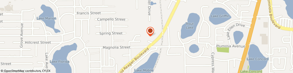 Route/map/directions to American Theater Systems, 32701 Altamonte Springs, 910 BRITT CT