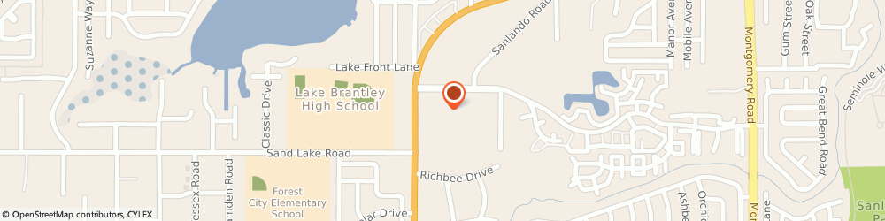Route/map/directions to Jackson Hewitt Tax Svc, 32714 Altamonte Springs, 931 N STATE ROAD 434